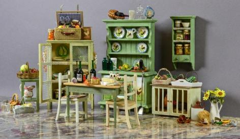 Antique Dolls House furniture