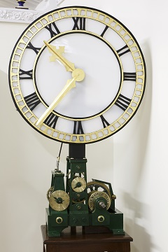 Antique clock from Paddington Station