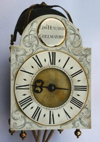 An antique lantern clock in this month's Antique Collecting magazine