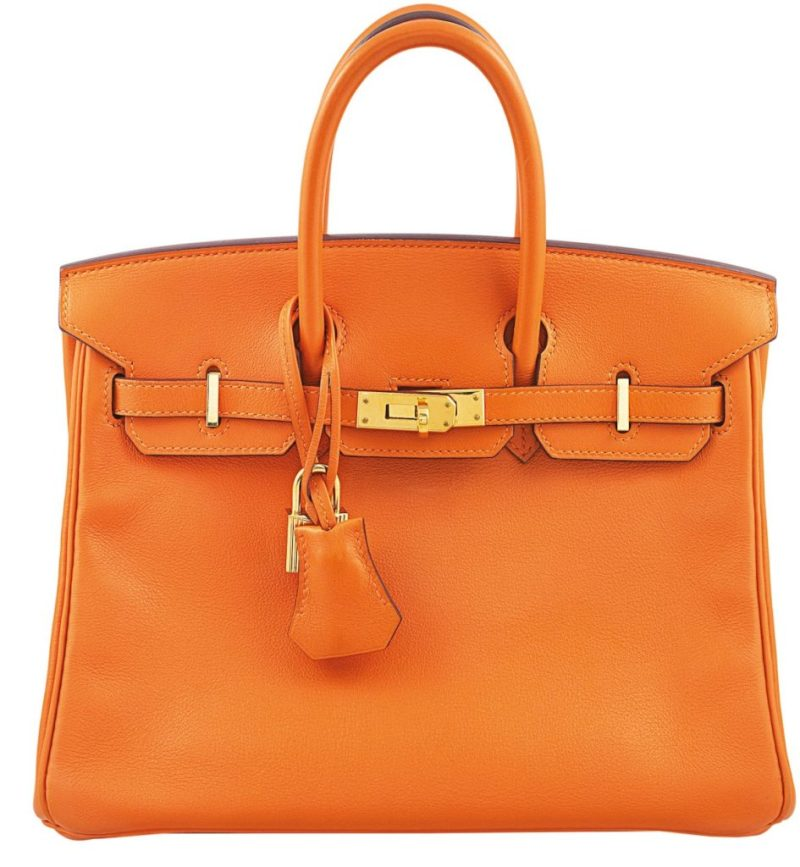 Hermès Birkin 25 in Rare H Orange