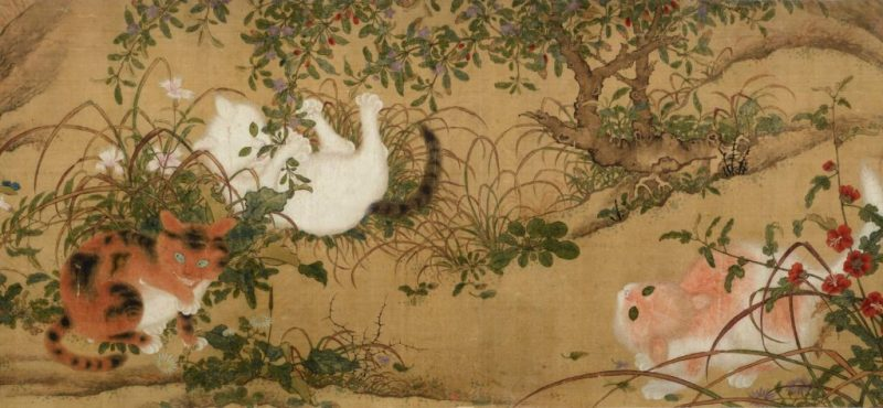Painting by Kawanabe Kyosai