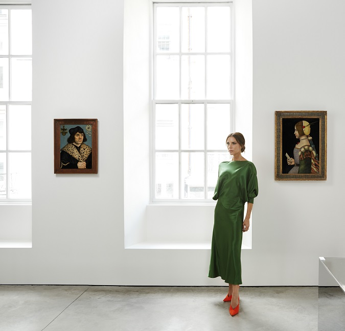 Victoria Beckham and old masters paintings