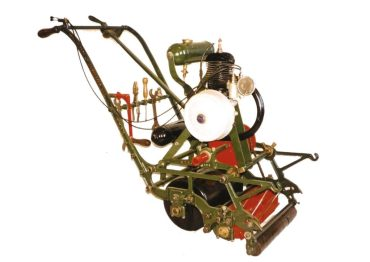 A lawnmower from the British Lawnmower Museum