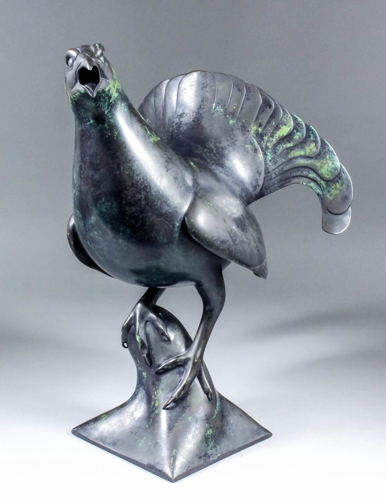 Geoffrey Dashwood sculpture