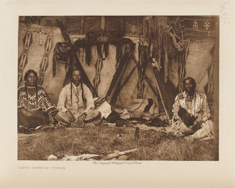 Image from The North American Indian by Edward S Curtis