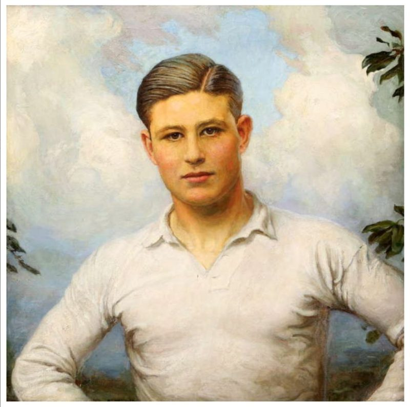 Portrait of Lieutenant Eric Elsdale Molson in Royal Star and Garter Homes auction