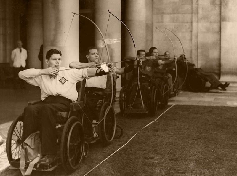 Royal Star and Garter Homes archery team