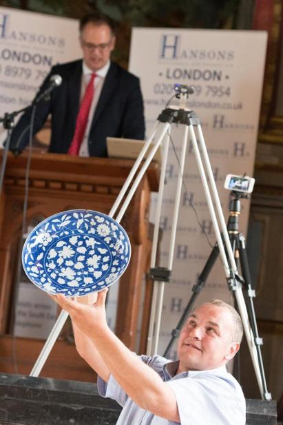 The antique Chinese dish sold at Hansons London