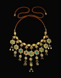 A gold necklace in Christie's gold sale