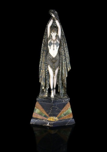 Demetre Chiparus art deco sculpture