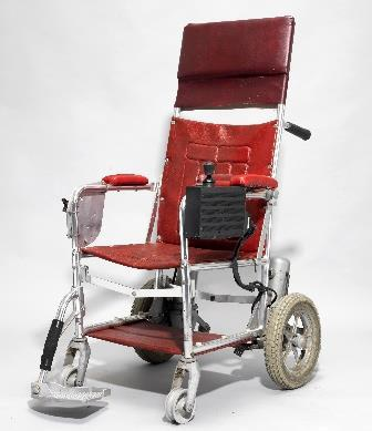 The wheelchair in the Stephen Hawking auction at Christie's