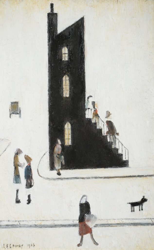 End House by LS Lowry