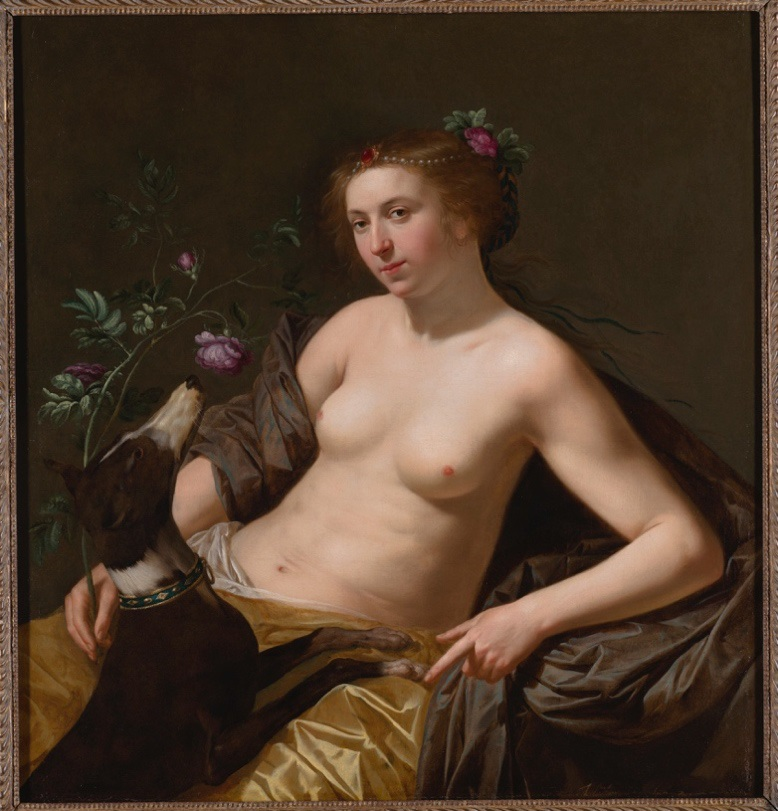 Jan van Bijlert - Allegory of Smell in Sex & Sensuality exhibition
