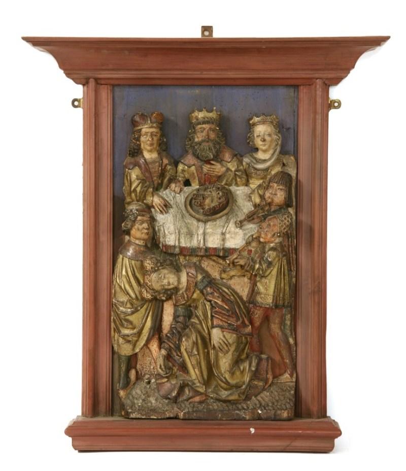 Antique Rheinish carving in the sale of Tim Wonnacott's antiques