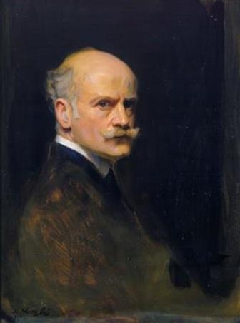 Philip deLászló self-portrait