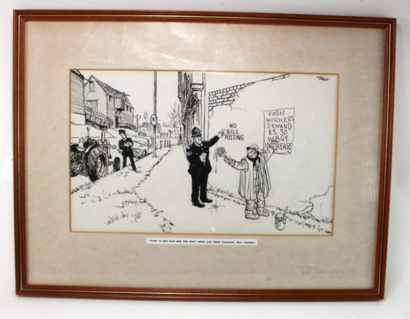 Giles Cartoon at Lockdales