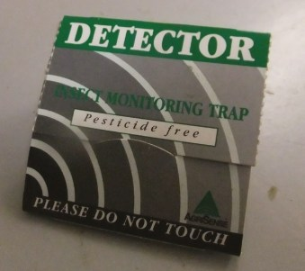 Blunder traps are so named because pests 'blunder' into them