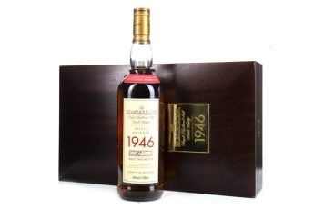 The 1946 Macallan single malt that sold for thousands in Glasgow