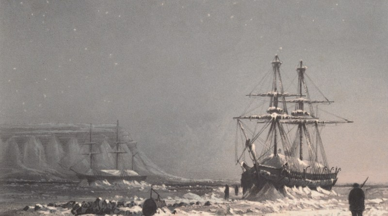 Image of the Antarctic exploration