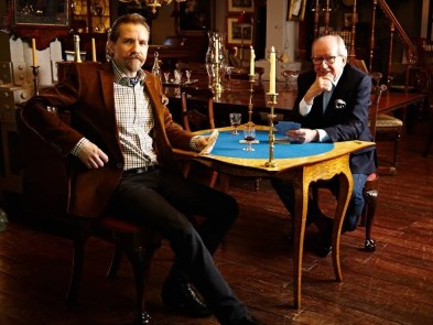 James and John of John Bly Antiques