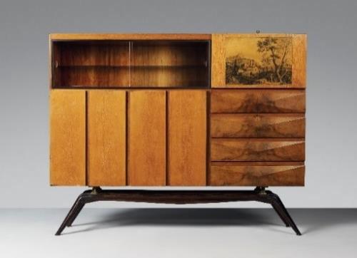 Carlo Mollino's unique 1944 Albonico cabinet