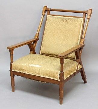 Chair in the manner of Christopher Dresser