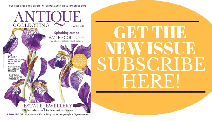 Get the new issue of Antique Collecting