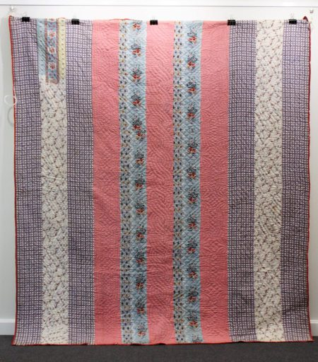 A quilt from Hannah Hauxwell estate in North Yorkshire sale