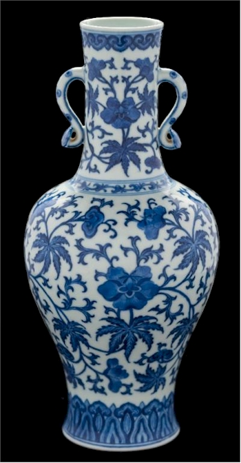 The rare Qianlong Chinese vase