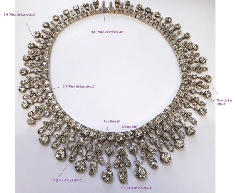 Antique diamonds and their set