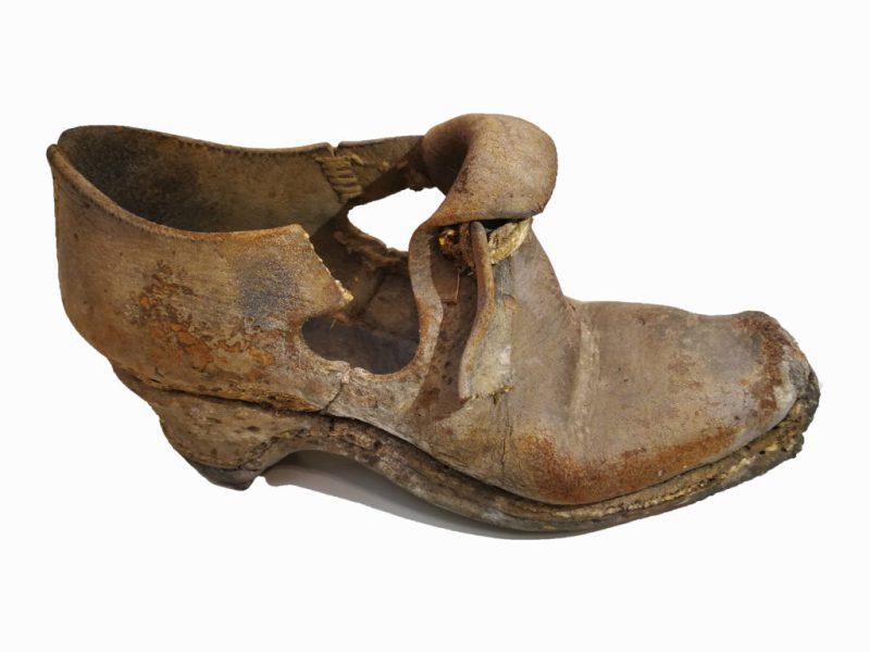 An ancient shoe