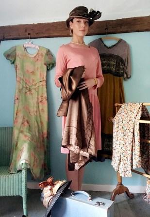 Vintage fashion in the Surrey sale
