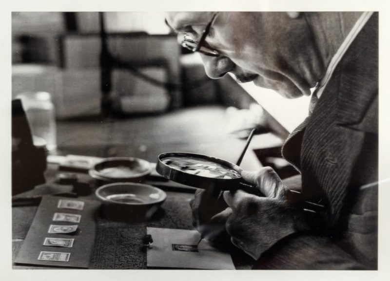 Leonard Fryer at work - credit Hansons