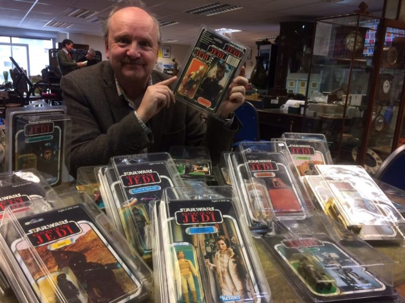 Collection of Star Wars toys set to sell in Derbyshire