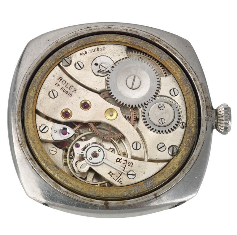 Inside the Panerai diver's watch in Birmingham sale