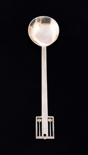 Wiener Werkstätte spoon sold in Staffordshire sale