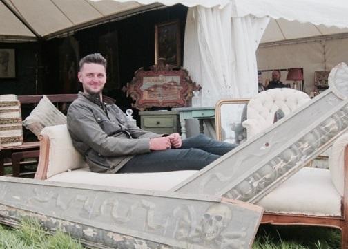 Matt Dixon at Ripley Decorative Home & Salvage Show