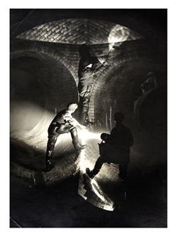 Slim Hewitt London sewer photography