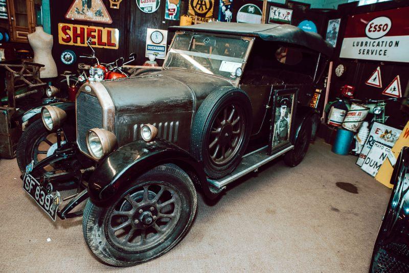 A 1927 Humber vintage car