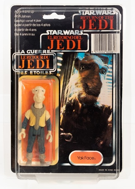 Star Wars toy Yak Face