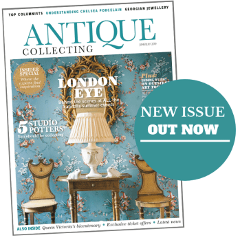 June-July 2019 issue of Antique Collecting magazine