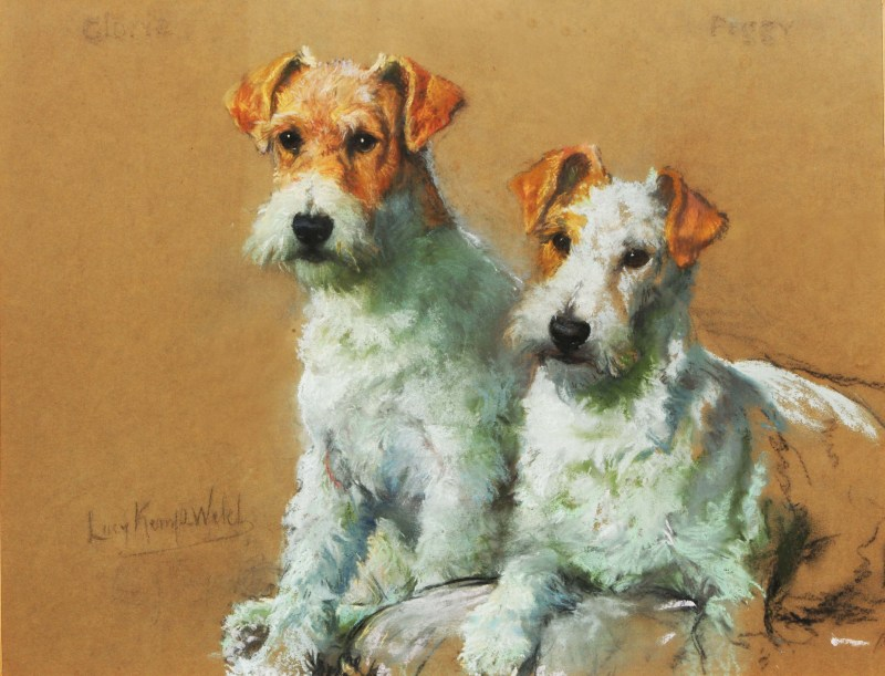Gloria and Peggy by Lucy Kemp-Welch