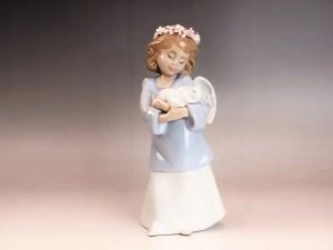「天使の宝もの」置物