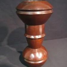 中島保美作 鋳銅花器