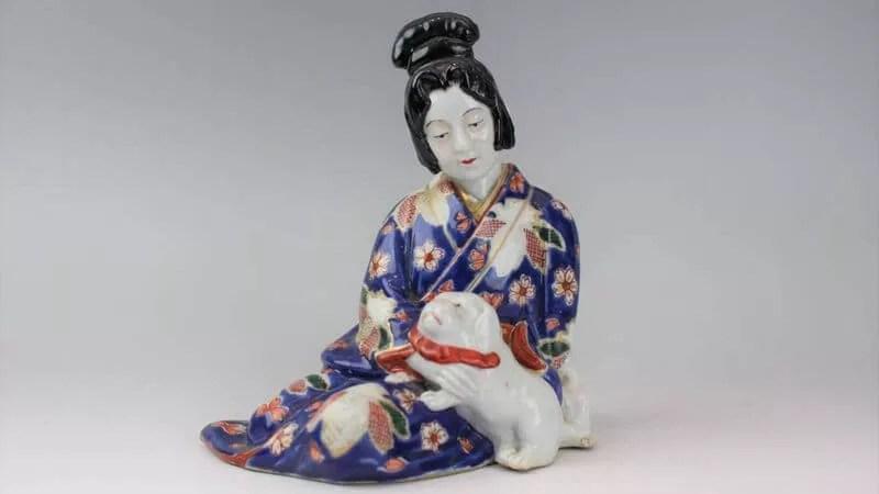伊万里焼・色絵人形