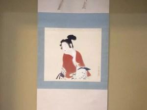 吉川観方筆 美人画