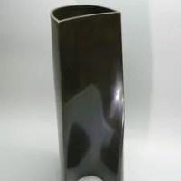 金森弘作 鋳銅花器オブジェ 『流象』