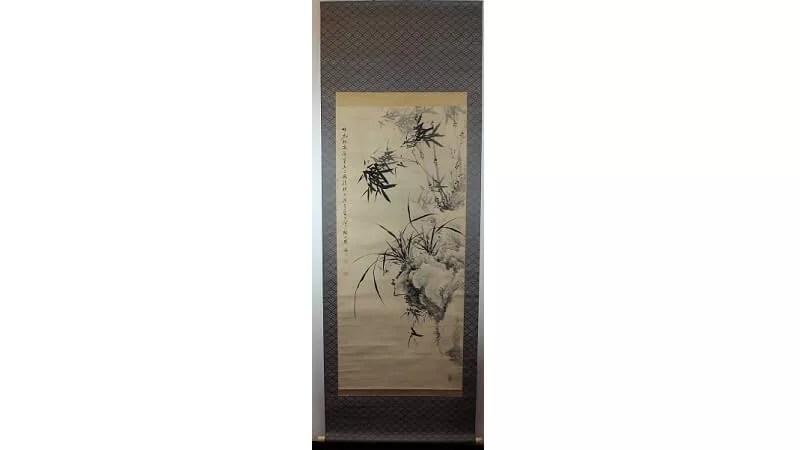 滝和亭/水墨画