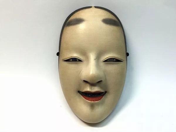 小倉宗衛/木彫り能面