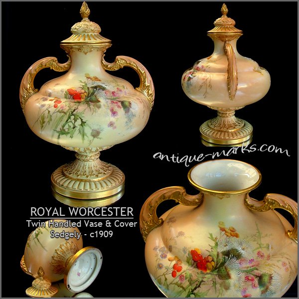 Made England Royal Worcester